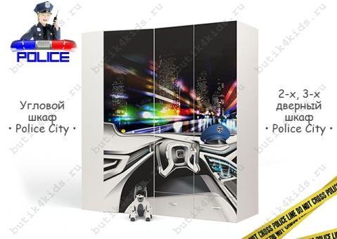 Шкаф угловой Police City