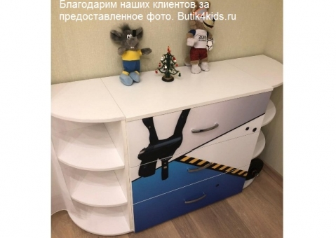 Угловой терминал Advesta для шкафа, стеллажа, комода