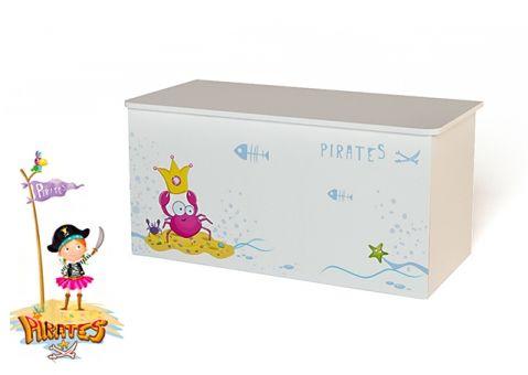 Ящик для игрушек Пиратка Адвеста