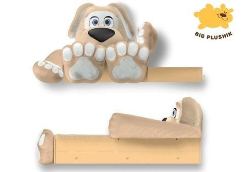 Кровать-игрушка Собачка Big Plushik с ящиком