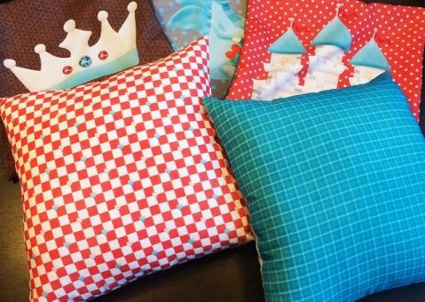 Декоративные подушки Рыцарский стиль для мальчика