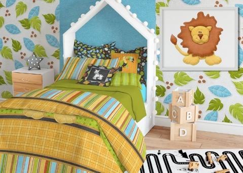 Детские декоративные подушки Африка