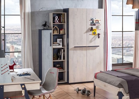 Книжный шкаф для ребенка Trio Cilek 20.40.1501.00