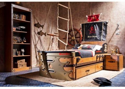 Книжный стеллаж Black Pirate Cilek 20.13.1501.00