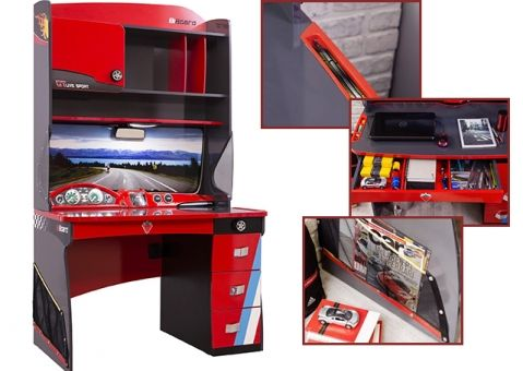 Стол письменный с приставкой Champion Racer Cilek CRC-1101