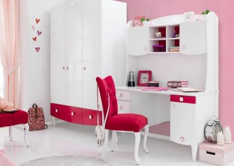 Трехдверный шкаф Yakut Cilek для девочки 20.20.1002.00