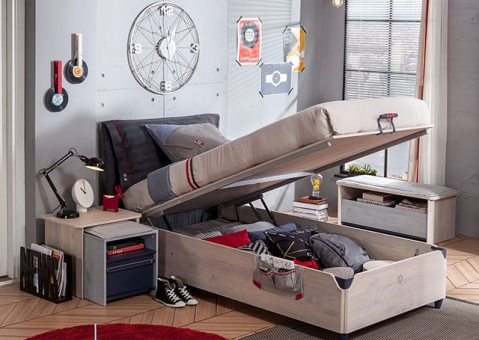 Подростковая кровать с подъемным механизмом Trio Cilek Арт.1705