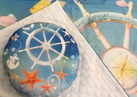 Подушки Путешествие по морю