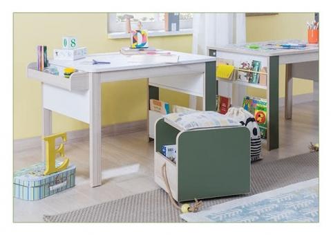 Пуфик с ящиком Montessori Cilek 20.68.1901.00 для игрушек