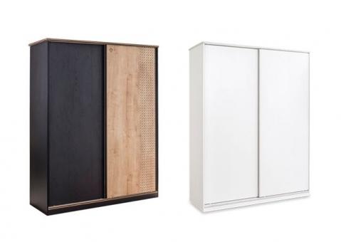 Детский шкаф-купе Black и White Cilek арт. 1003