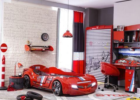 Шкаф 3-х дверный Champion Racer Cilek CRC-1002