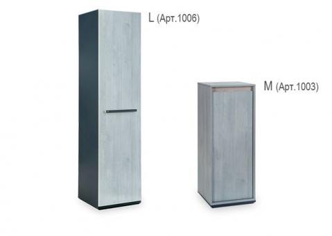 Шкаф одностворчатый Trio Cilek 20.40.1003.00 и 20.40.1006.00