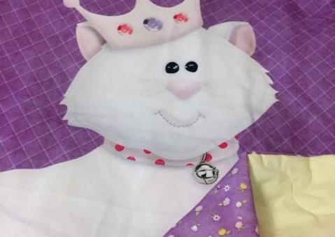 Стёганое покрывало Принцесса для девочки