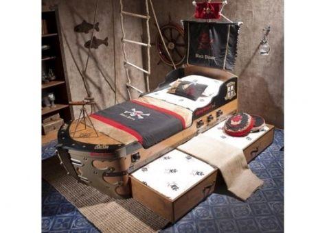 Ящик подкроватный выдвижной Black Pirate 20.13.1303.00