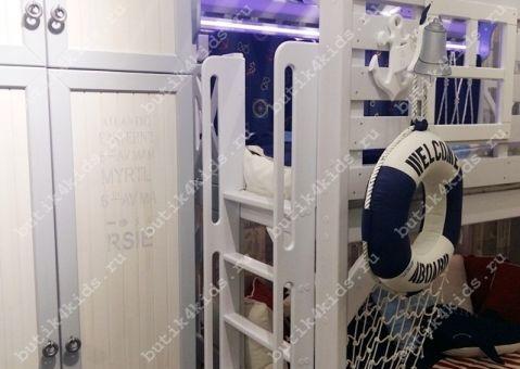 Антресоль Белый Кит для малого шкафа