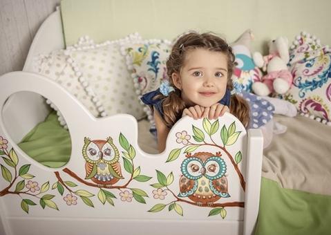 Детская кровать Совы
