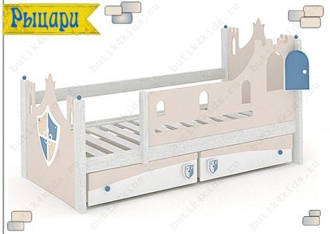 Детская кровать с изголовьем Рыцари (Knights)