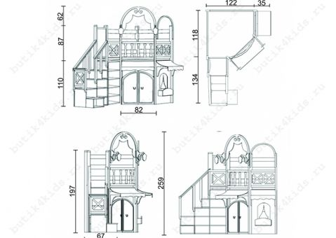 Игровой домик Регата