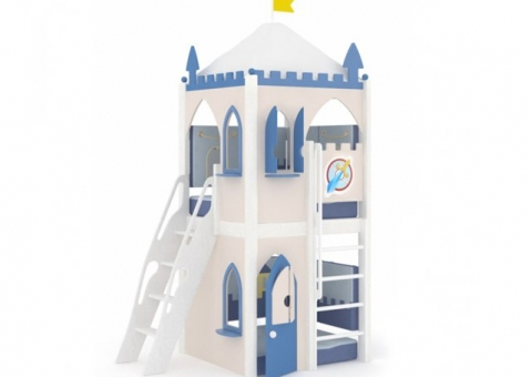 Игровой домик малый с наклонной лестницей Рыцари