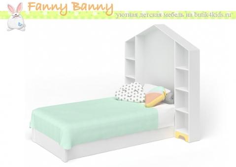 Кровать-домик Фанни Банни с магнитно-маркерным изголовьем