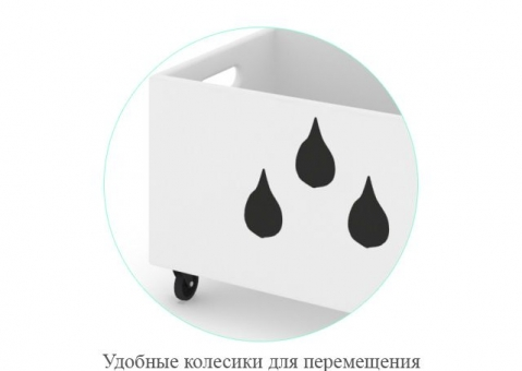 Сундук на колесиках Фанни Банни АртF4290