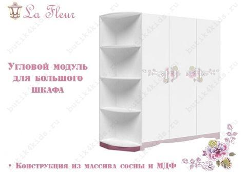 Угловой модуль La Fleur (Ла Флёр) для большого шкафа
