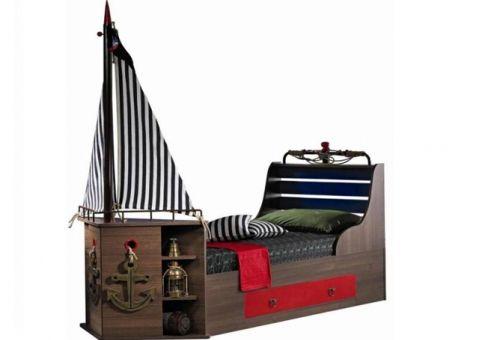 кровать корабль корсар догташ