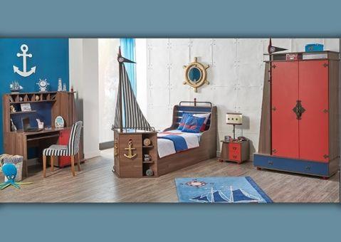 Кровать Корабль Korsan (без носа)