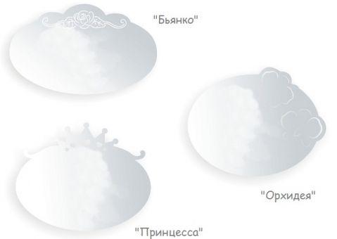 Зеркало Принцесса, Орхидея, Бьянко