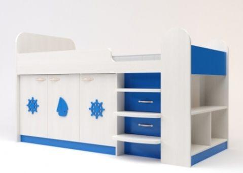 Кровать чердак Аллегро для мальчика