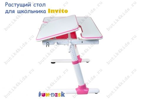 Парта трансформер для школьника Invito