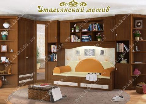 Шкаф двухдверный с ящиками Итальянский мотив Гармония