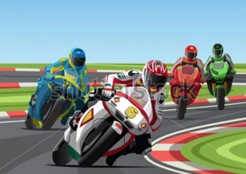 Фотообои Мото-гонки