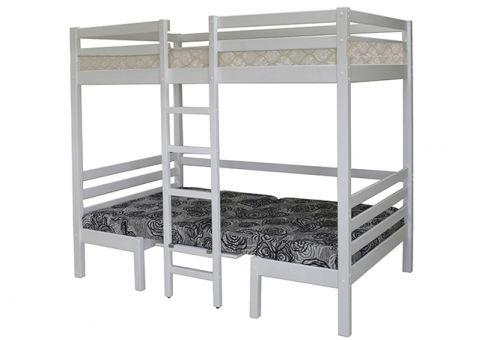 Подростковая двухъярусная кровать-трансформер Друзья