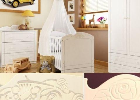 Детская мебель Бьянко Мобиле, Бьянко Фиоре для новорожденных