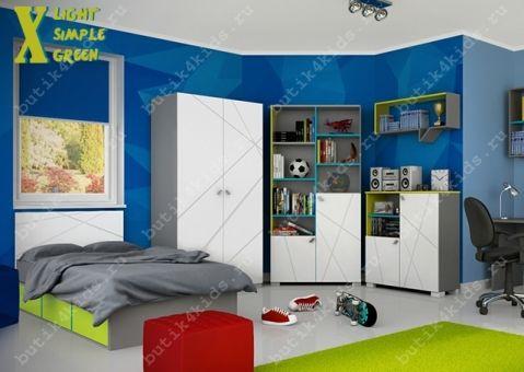 Детская мебель Х Лайт Симпл Грин