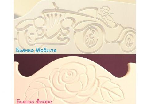 Кровать Бьянко Мобиле, Бьянко Фиоре 190х90, 190х120, 160х80