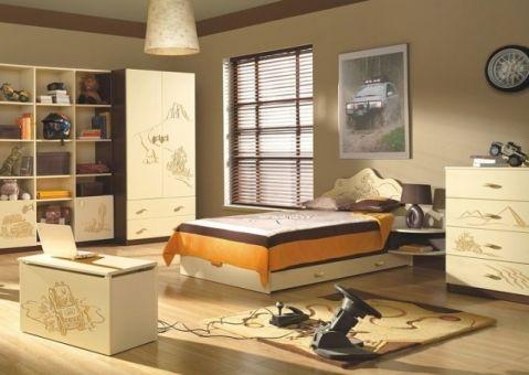 Кровать Дакар Меблик 190х90, 190х120, 160х80