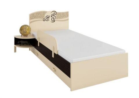 Кровать Карамель Меблик 190х90, 190х120, 160х80
