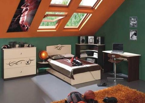 Кровать Тату Меблик 190х90, 190х120, 160х80