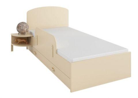 Кровать Ваниль Меблик 190х90, 190х120, 160х80