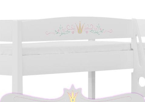 Кровать двухъярусная Принцесса