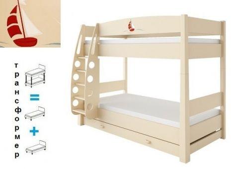 Кровать двухъярусная Путешественник
