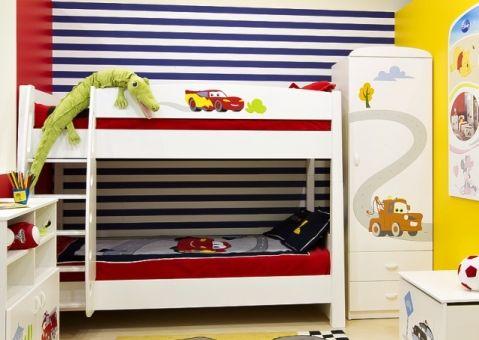 Кровать двухъярусная Тачки Дисней