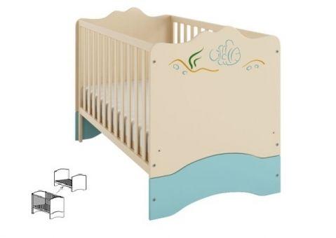 Кроватка Океан 140х70