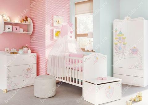 Кроватка Принцесса 140х70