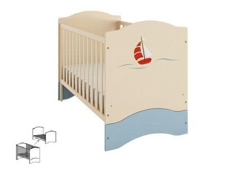Кроватка Путешественник 140х70