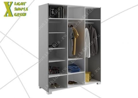 Шкаф 150 X Лайт Симпл Грин