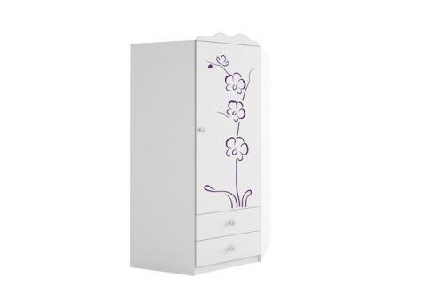 Шкаф Орхидея угловой