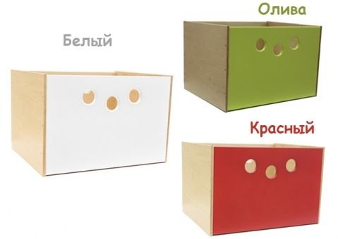 Коробка для стеллажей X Лайт Симпл Грин